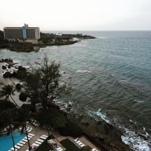 View from my balcony, San Juan, Puerto Rico